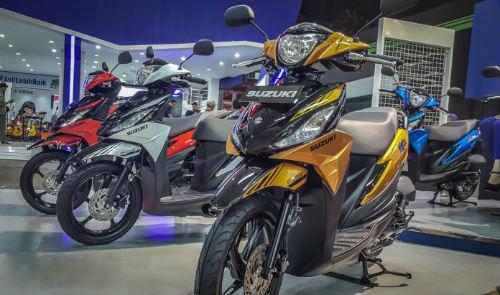 Ngắm xe ga 2017 Suzuki Address Playful giá hơn 24,8 triệu đồng - 2