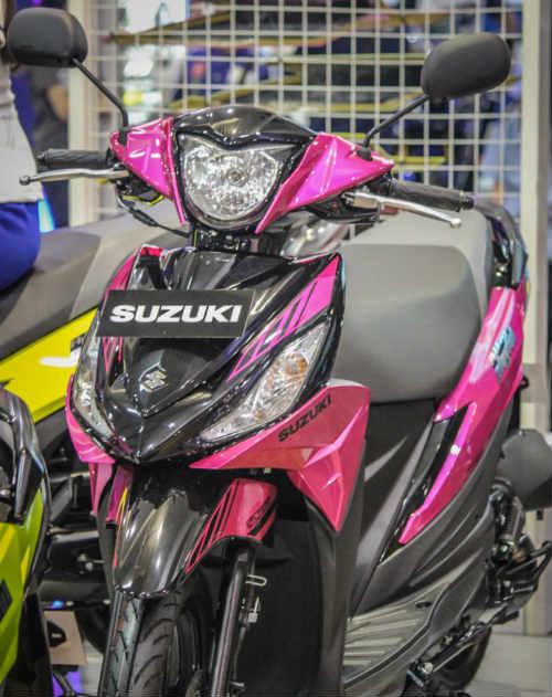 Ngắm xe ga 2017 Suzuki Address Playful giá hơn 24,8 triệu đồng - 3