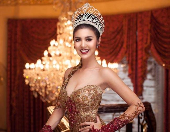 Ariska Putri Pertiwi là Hoa hậu Hoà bình quốc tế 2016.