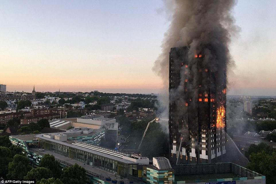 Vụ cháy kinh hoàng ở Anh được cảnh báo từ 4 năm trước - 1