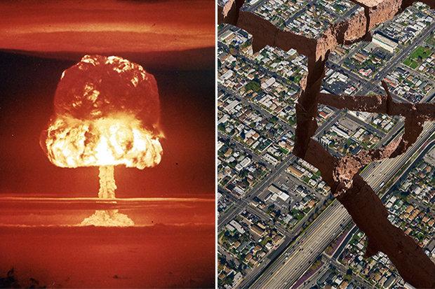 """Dự báo siêu động đất """"hạt nhân"""", tách đôi thành phố Mỹ - 1"""