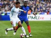 Pháp - Anh: Thẻ đỏ và cuộc rượt đuổi 5 bàn