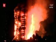 """Thế giới - Kinh hoàng lửa khổng lồ """"nuốt trọn"""" tòa nhà 24 tầng ở Anh"""