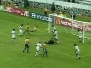"""Siêu phẩm đẹp nhất Confederations Cup: Ronaldinho """"cắt kéo"""" thiên tài"""