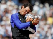 Thể thao - Tin thể thao HOT 14/6: Nadal mặc kệ 18 Grand Slam của Federer