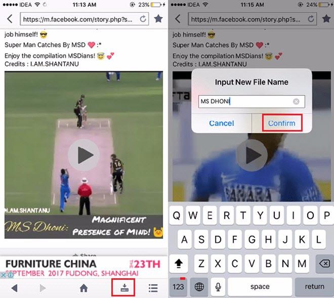 2 ứng dụng giúp tải nhanh video Facebook về thiết bị iPhone, iPad - 2