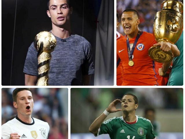 Confederations Cup 2017: Ronaldo so tài Sanchez, Chicharito
