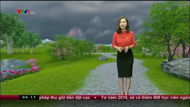 Dự báo thời tiết VTV 15.6: Bắc Bộ tiếp tục mưa lớn, Trung Bộ nắng nóng