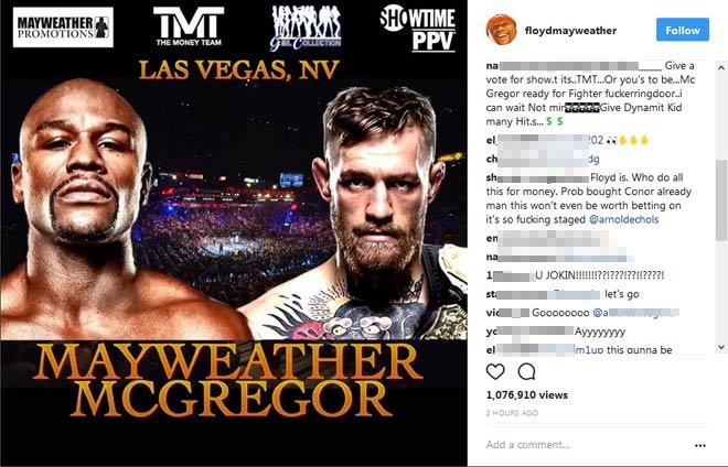 Chốt Mayweather - McGregor tỷ đô: Làng boxing chao đảo - 3