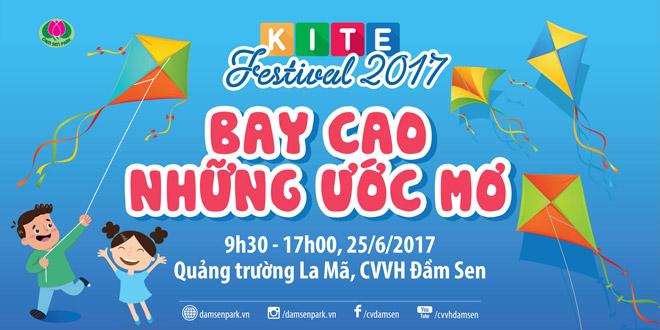 Lễ hội diều hè 2017 tại Đầm Sen - 1