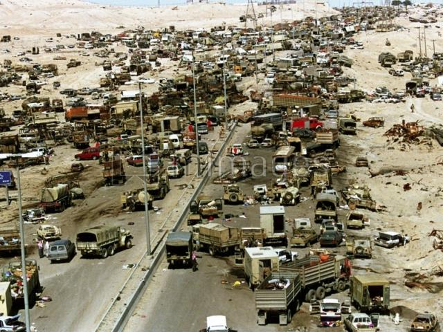 Chiến tranh vùng Vịnh: Trận càn tàn khốc ở Xa lộ Tử thần