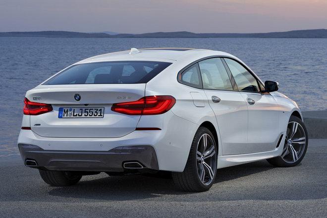 BMW 6-Series Gran Turismo 2018 hoàn toàn mới ra mắt - 2