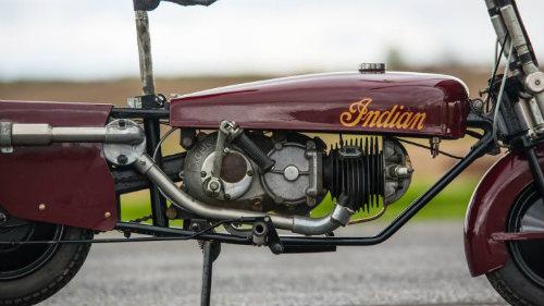Độc đáo Indian Papoose 1949 cải tiến từ xe quân sự - 2