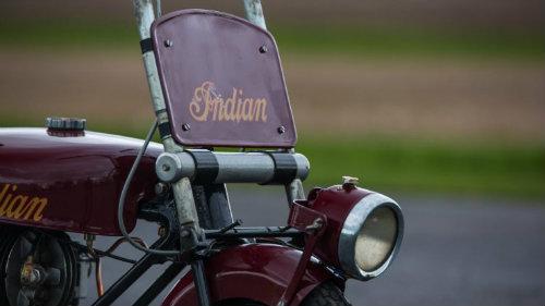 Độc đáo Indian Papoose 1949 cải tiến từ xe quân sự - 8