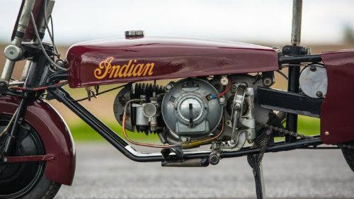 Độc đáo Indian Papoose 1949 cải tiến từ xe quân sự - 4