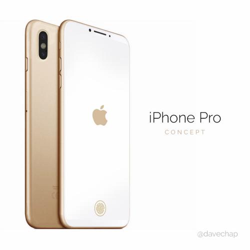 Ngây ngất trước iPhone Pro dùng cảm biến Touch ID trên màn hình - 1