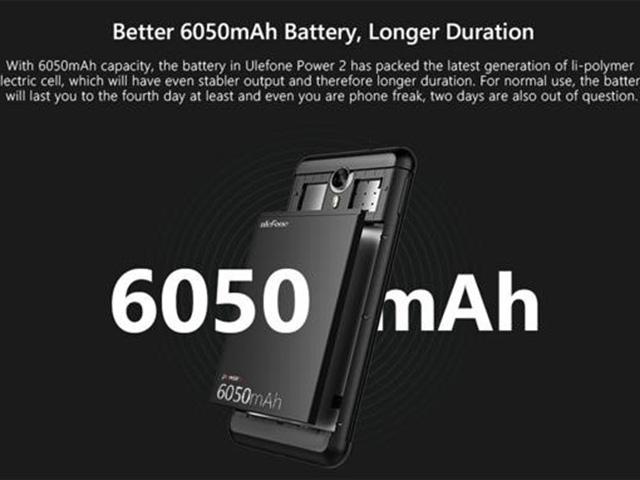 """""""Vua smartphone"""" pin 6050Mah đàm thoại lên tới 63 giờ gây sốt - 2"""