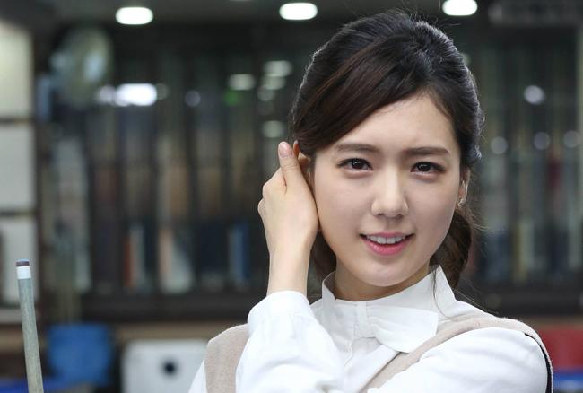Han Joo Hee, nữ cơ thủ Hàn Quốc nổi tiếng với tài năng và ngoại hình vượt trội.