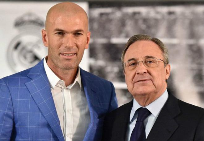 """Chuyển nhượng Real: Perez nhắm 10 """"bom  tấn"""", Zidane kết nhất 3 - 1"""