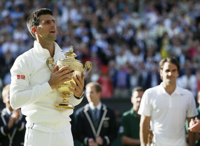 """Wimbledon: Djokovic luyện """"đòn hiểm"""", đấu Federer - Nadal - 2"""