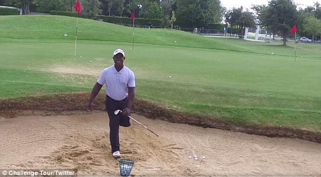 Cụt 1 chân vẫn đánh golf siêu đẳng, dự giải cao thủ - 2