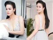 """Nhật Kim Anh khoe dáng nuột nà với váy """"trống trước hở sau"""""""