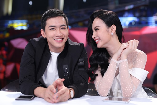 Angela Phương Trinh được Võ Cảnh thổ lộ tình cảm trên truyền hình - 1