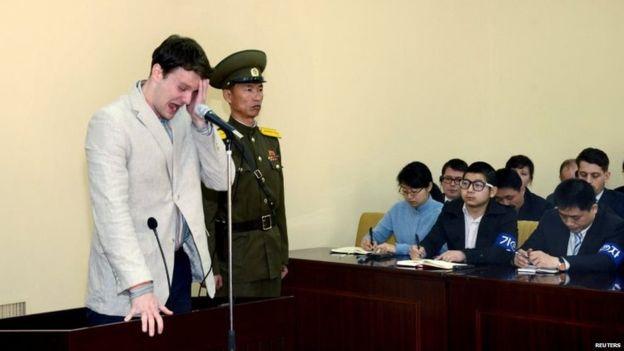 """Sinh viên Mỹ được Triều Tiên thả bị """"mất nhiều mô não"""" - 4"""