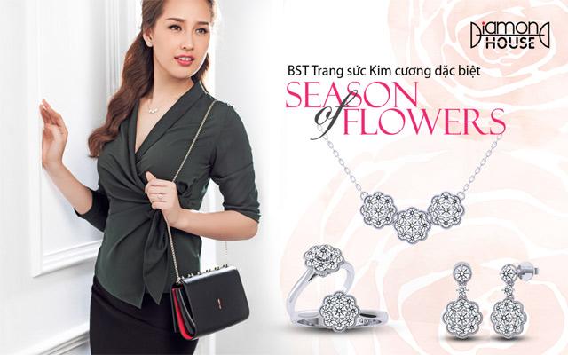 """Mai Phương Thúy rạng rỡ với trang sức kim cương """"hoa"""" - 1"""