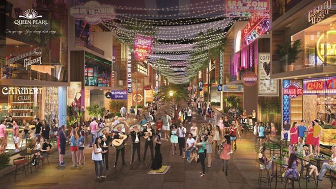 """Cơ hội đầu tư """"vàng"""" của phố thương mại Queen Pearl Mũi Né - 3"""