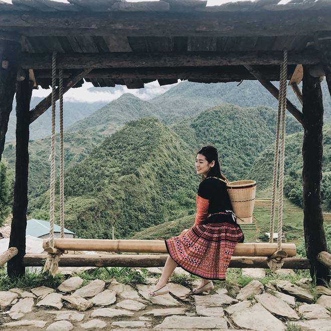 Người yêu tin đồn Noo Phước Thịnh hóa mỹ nữ vùng cao - 1