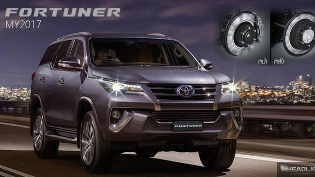 Toyota Fortuner 2018 thêm nhiều cải tiến - 1