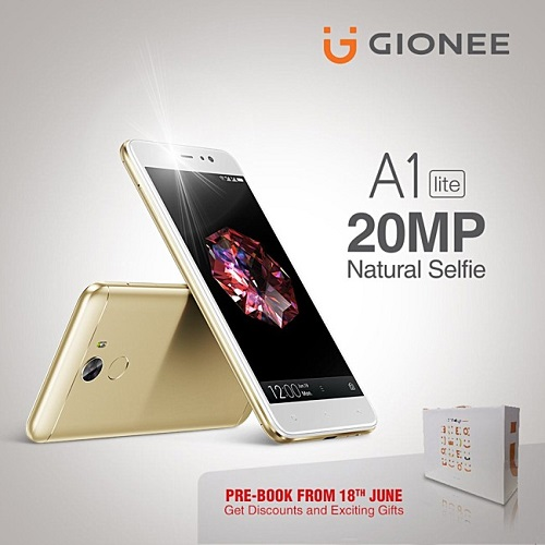 Gionee A1 Lite có camera selfie 20MP, giá chỉ 6 triệu đồng - 1