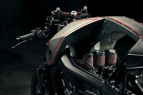 Độc đáo Yamaha XSR900 độ Đứa con Thời gian - 4