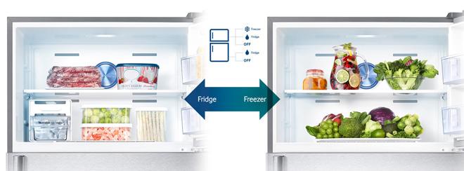 Những điểm nổi trội của tủ lạnh 2 dàn lạnh so với dòng tủ lạnh thông thường - 3