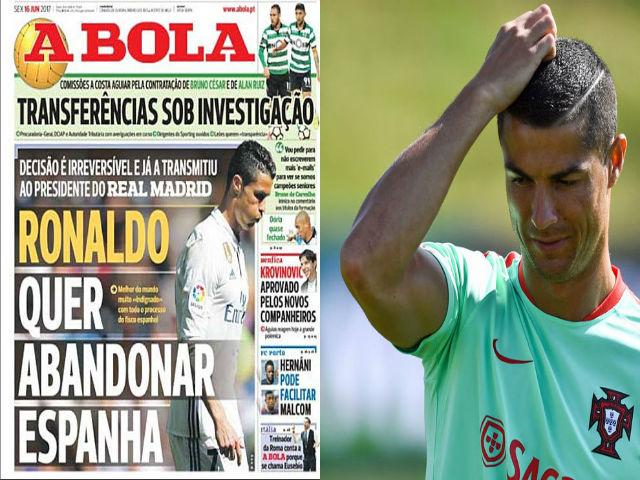 """Chấn động Real, Ronaldo đòi đi, giá 157 triệu bảng: """"Mưu kế"""" của CR7? - 5"""