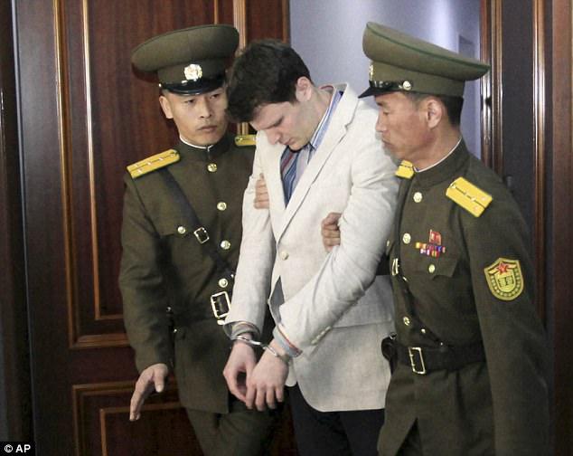 Clip cuối trước khi sinh viên Mỹ bị bắt ở Triều Tiên - 2