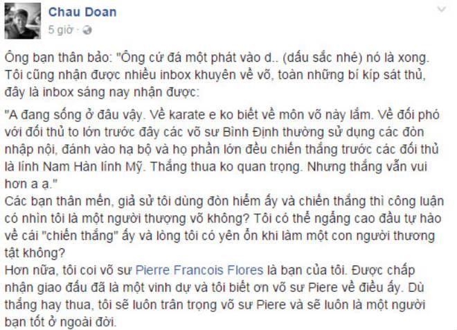 """Karate Việt Nam đả Vịnh Xuân: Thua đau cũng không """"chơi bẩn"""" - 2"""