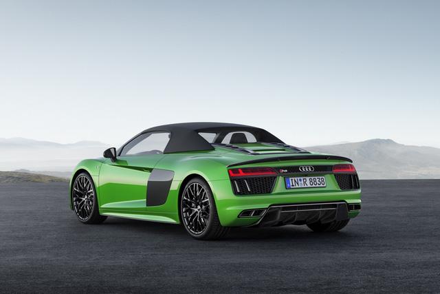 Audi R8 V10 Plus Spyder 2017 lộ diện với giá 5,3 tỷ đồng - 2