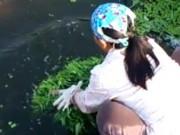 Truyện cười - Truyện cười: Suýt nuôi chồng bằng rau sông Tô Lịch