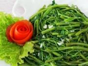 Sức khỏe đời sống - Thực hư chuyện ăn rau muống 'tái' bị xơ gan