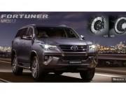 Toyota Fortuner 2018 thêm nhiều cải tiến