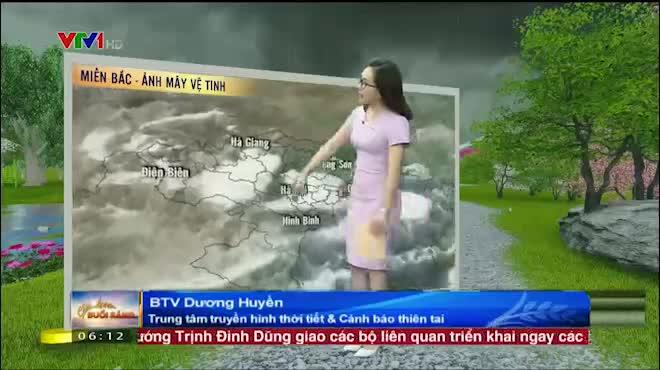Dự báo thời tiết 17.6: Bắc Bộ mưa lớn, Nam Bộ nắng nóng