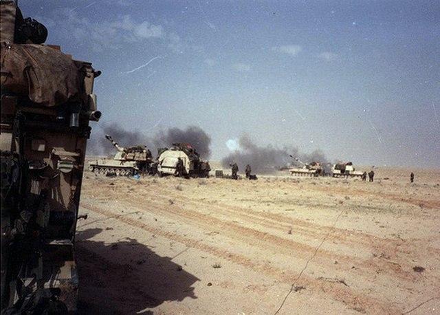 Chiến tranh vùng Vịnh: Trận lớn nhất bom vùi đạn dập Iraq - 6