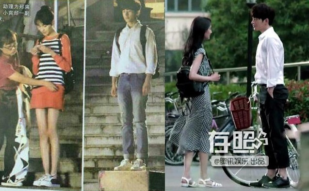 """Ngỡ ngàng khi biết """"sự thật"""" về Huỳnh Hiểu Minh, Dương Mịch khác xa trên phim - 3"""