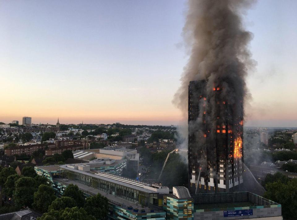 Vụ cháy ở Anh: Số người chết thực sự bị che giấu? - 1