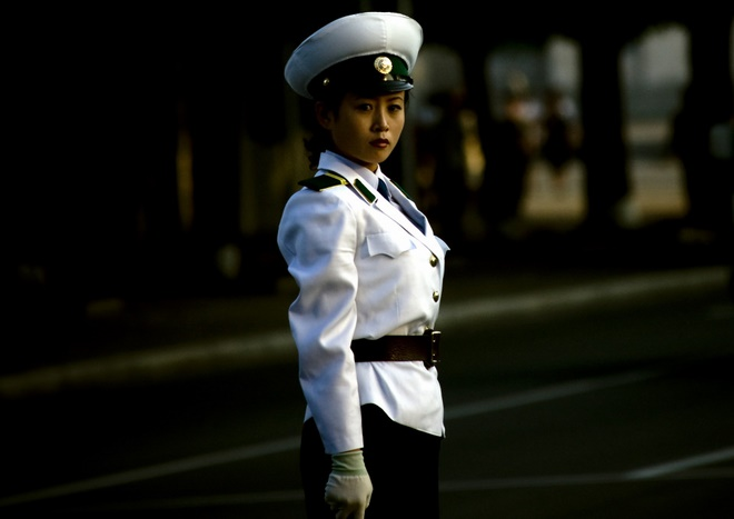 Điều kiện ngặt nghèo để thành nữ cảnh sát ở Triều Tiên - 3