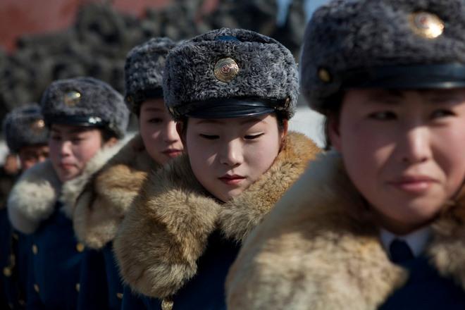 Điều kiện ngặt nghèo để thành nữ cảnh sát ở Triều Tiên - 1