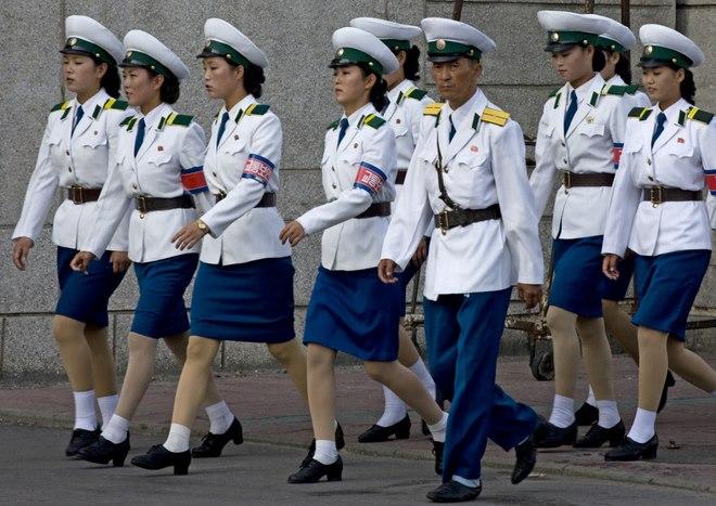 Điều kiện ngặt nghèo để thành nữ cảnh sát ở Triều Tiên - 2