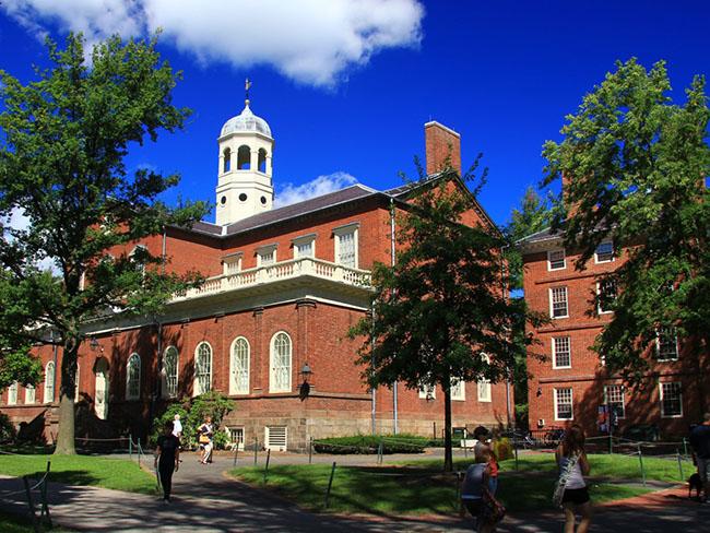 1. Đại học Harvard, điểm số toàn cầu 100/100.